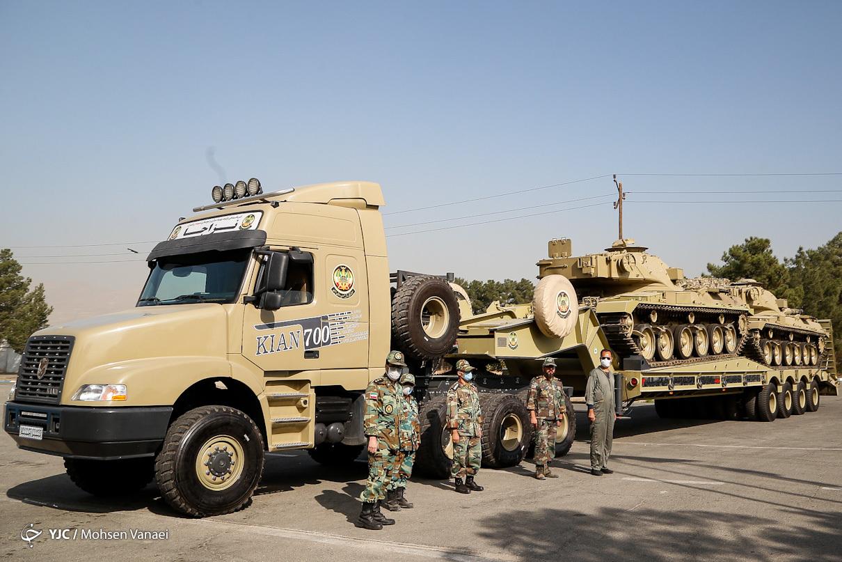 نیروی زمینی ارتش از کدام دستاوردهای تقویت شده رونمایی کرد؟