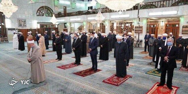 حضور بشار اسد در جشن میلاد پیامبر گرامی اسلام+ تصاویر