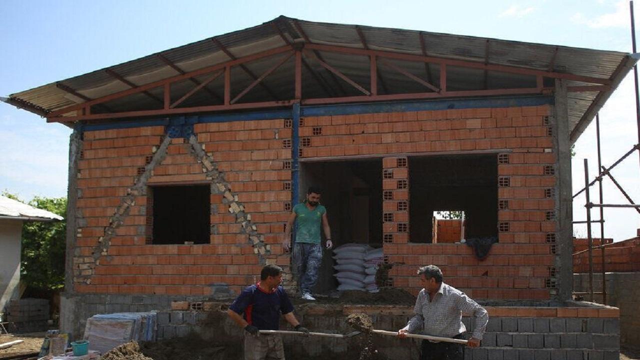 بازسازی واحدهای زلزله زده سراب در مراحل پایانی