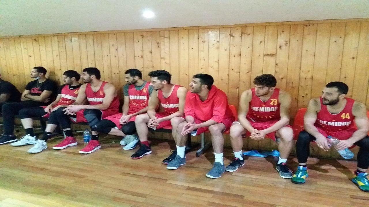 باشگاه خبرنگاران -پیروزی تیم بسکتبال شیمیدر در دیداری دوستانه مقابل پالایش نفت آبادان