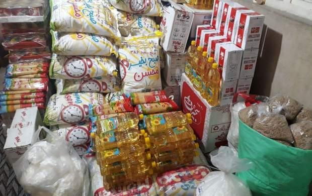 توزیع ۱۵۰ سبد غذایی در شب میلاد پیامبر رحمت بین بیماران سختدرمان