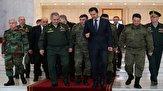 باشگاه خبرنگاران -دیدار هیئتی از وزرای خارجه و دفاع روسیه با بشار اسد در دمشق