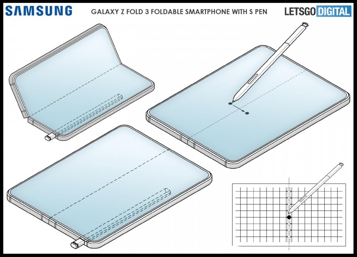 طراحی سه بعدی Galaxy Z Fold 3