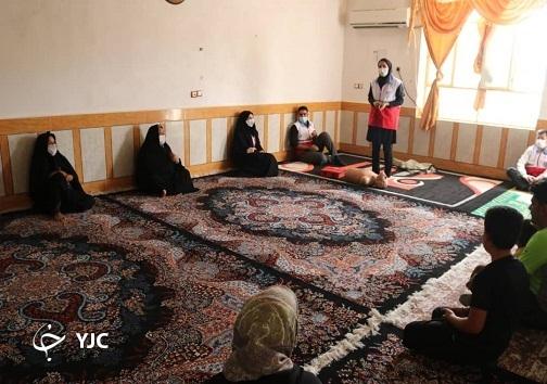 اجرای طرح ناجیان امید در روستای گل کپرگه اندیمشک