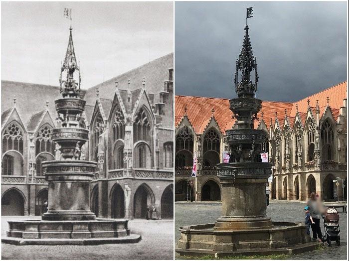 تغییرات شاهکارهای معماری جهان در طول ۱۰۰ سال + تصاویر