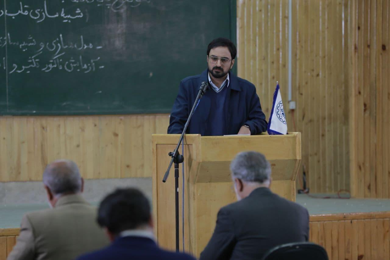اولین تصاویر از بازیگر نقش شهید شهریاری/ تصویربرداری به دانشگاه شهید بهشتی رسید
