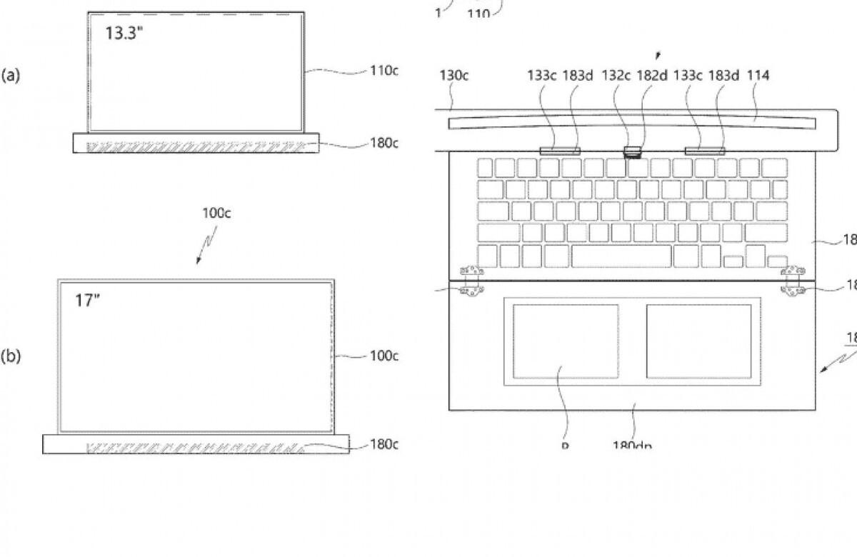 لپ تاپ با نمایشگر متحرک