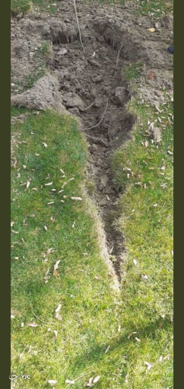 تصویری از بقایای راکت اصابت شده به محوطه سفارت ایران در افغانستان