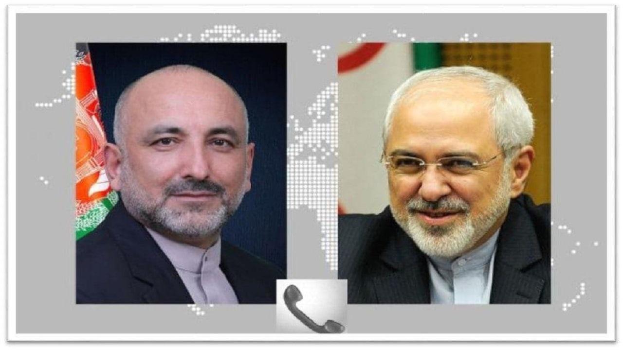 12968153 550 » مجله اینترنتی کوشا » تبریک ظریف به وزیر خارجه افغانستان 1