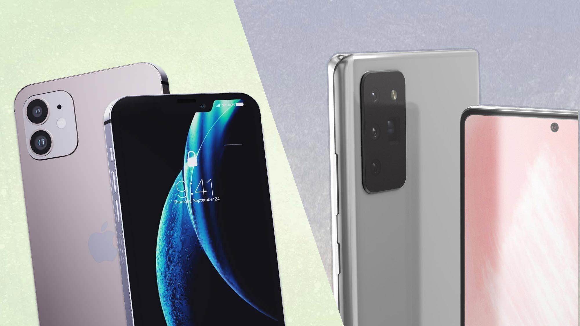 مقایسه دوربین گوشیهای iPhone 12 Pro Max و Galaxy Note 20 Ultra