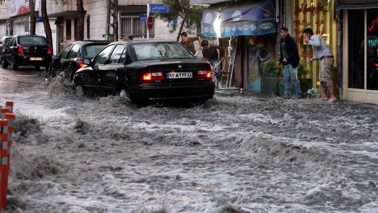 خطر وقوع سیلاب در استان تهران