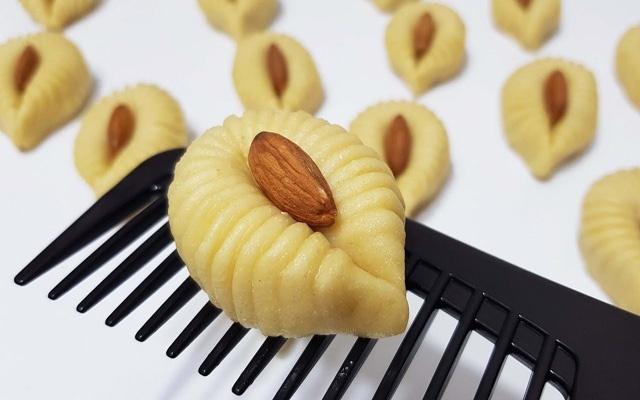 طرز تهیه و فوت و فن شیرینی تاتلی شانه ترکیه در فر و بدون فر