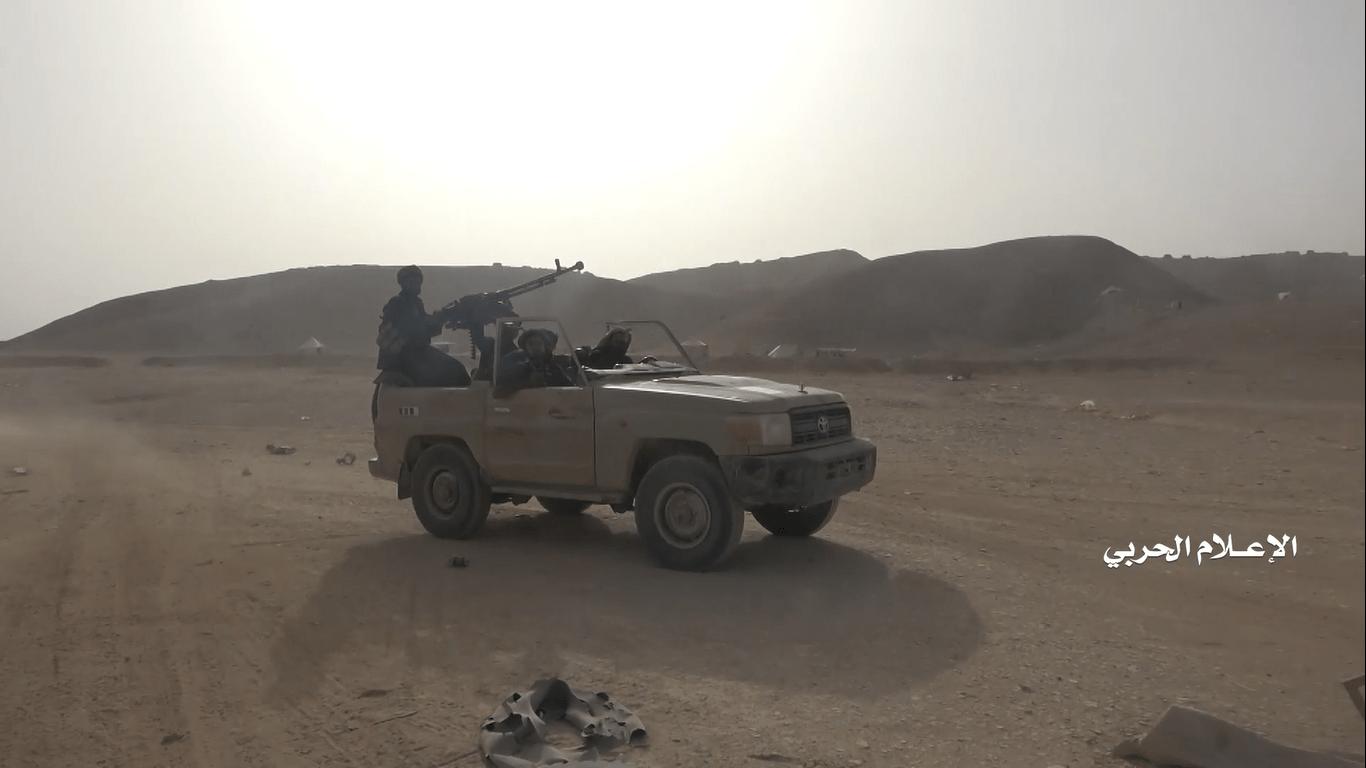 آشفتگی در ریاض پس از آزادی پایگاه نظامی «ماس» / فرار سعودیها از شکست با خروج از شهر مارب + تصاویر