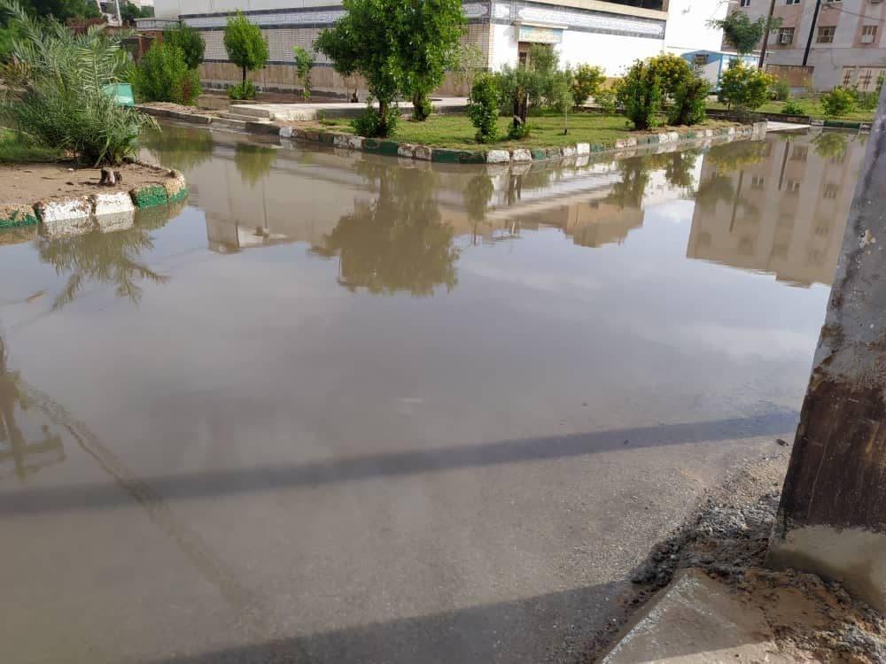 آخرین اخبار از آبگرفتگی ها در خوزستان/ تخریب خانه های روستایی در ایذه/ امدادرسانی به یک هزار خانوار + فیلم و تصاویر