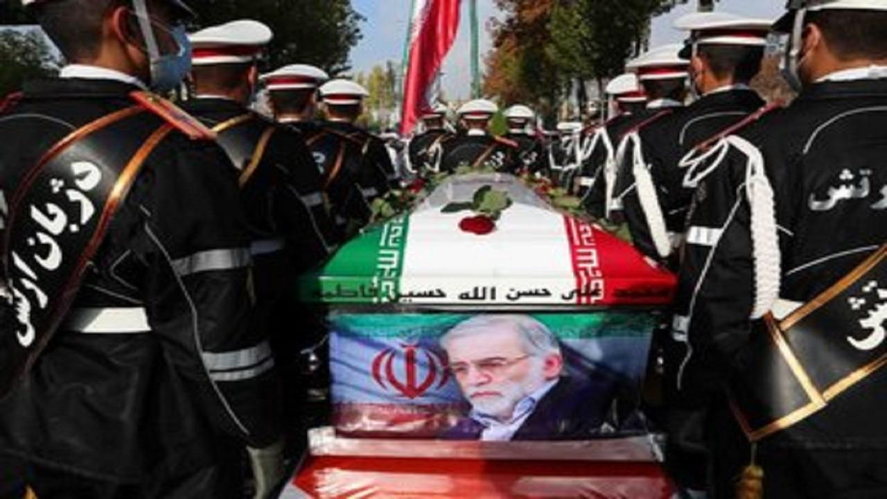 پیکر شهید فخریزاده به خاک سپرده شد