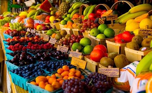 میوه های گرمسیری بسته بندی شده با اسم های فرنگی