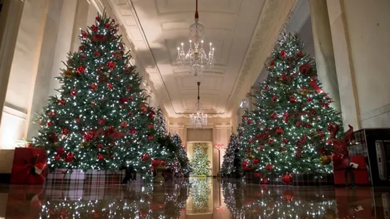 آخرین جشن کریسمس ملانیا در کاخ سفید