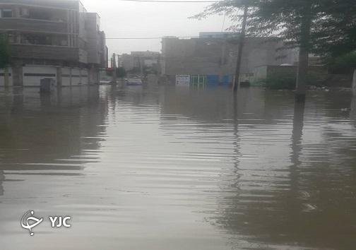 خوزستان پس از باران/ جای مسئولان در تصاویر خالی است+تصاویر