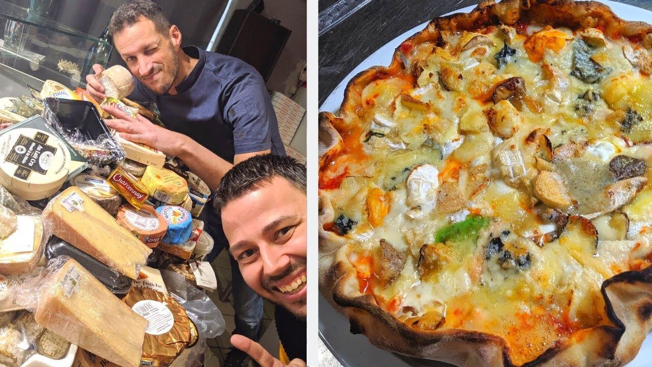 پیتزا با ۲۵۴ نوع پنیر به ثبت گینس رسید+تصاویر