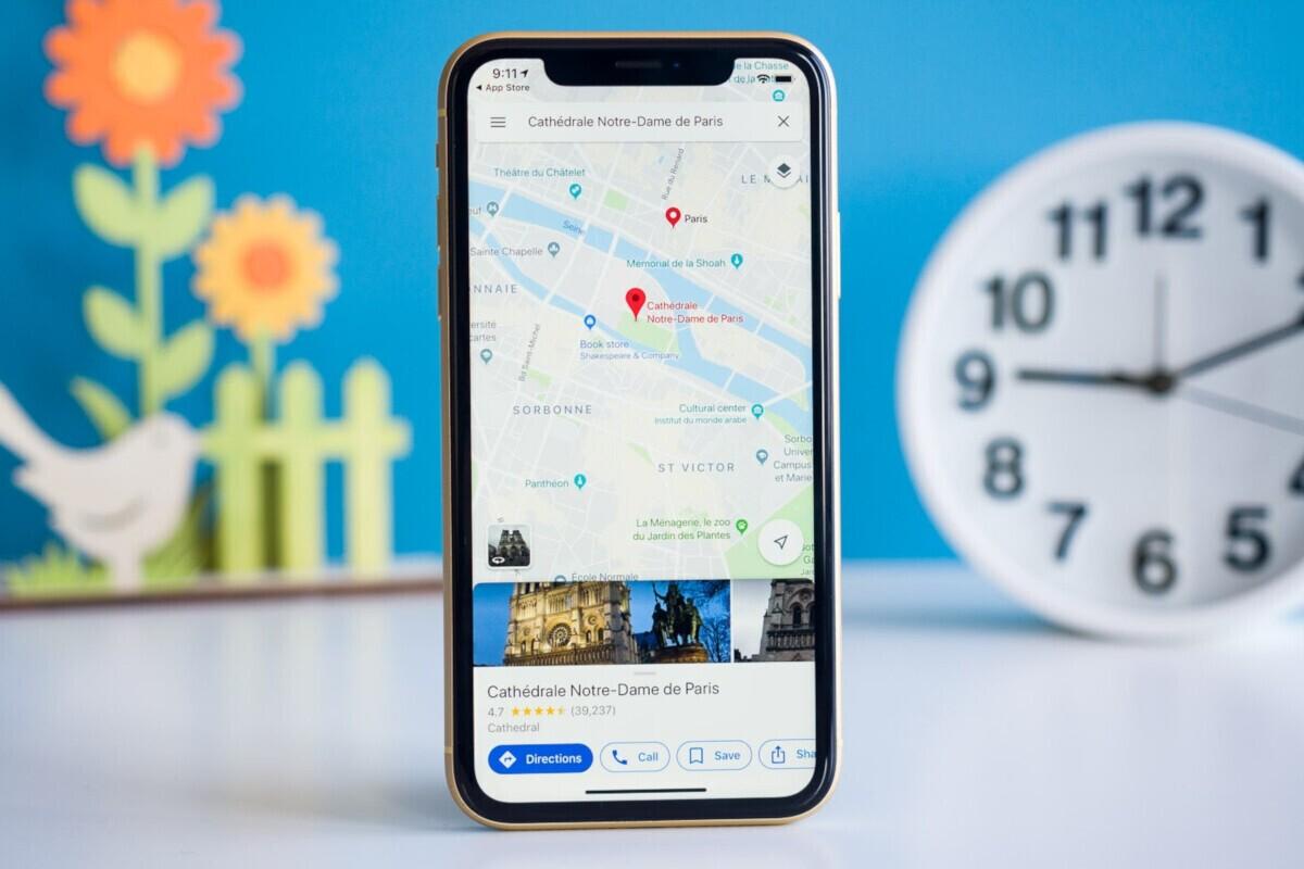 قابلیتهای ویژگی جدید برنامه Google Maps