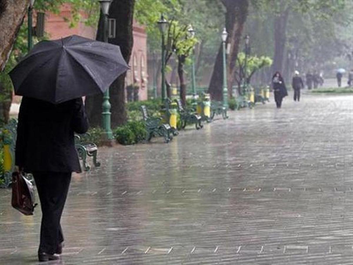 بارش ۱۰۰ میلی متری باران در استان همدان