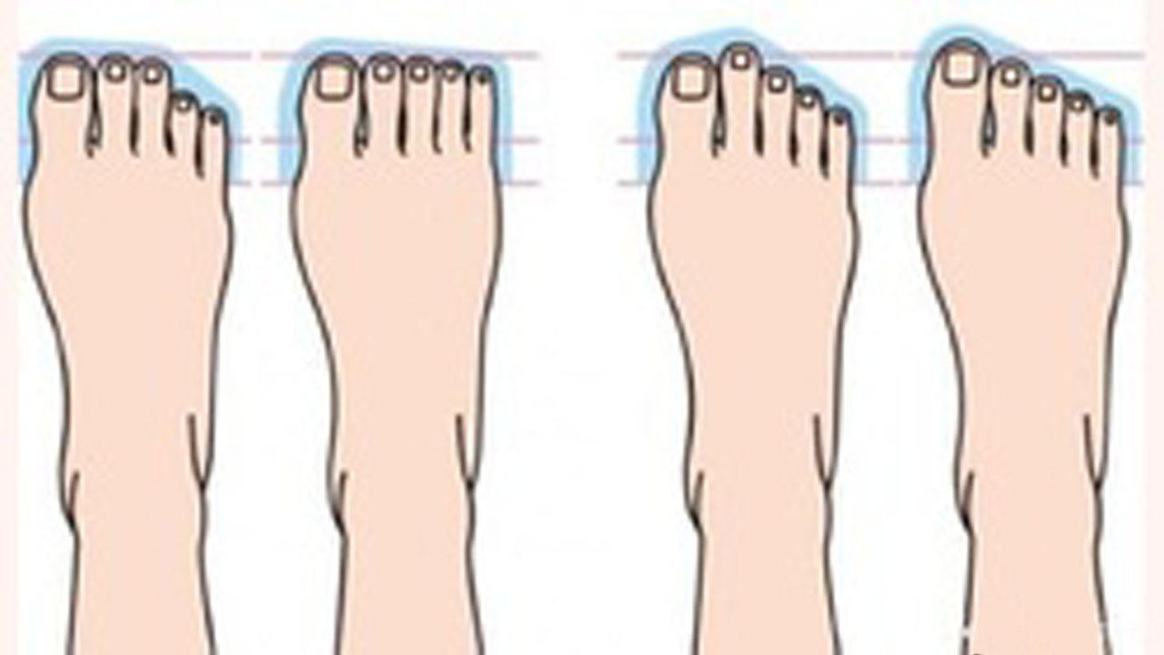 از شکل کف پاهای خود اجدادتان را پیدا کنید