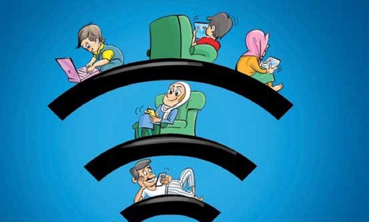 ۵ گام کاربردی برای مبارزه با غول هفت سر فضای مجازی/آیا چشم فرزند شما هم در کلاس آنلاین سرخ است؟