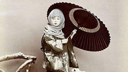 تصاویری دیدنی از حجاب زمستانی زنان ژاپنی