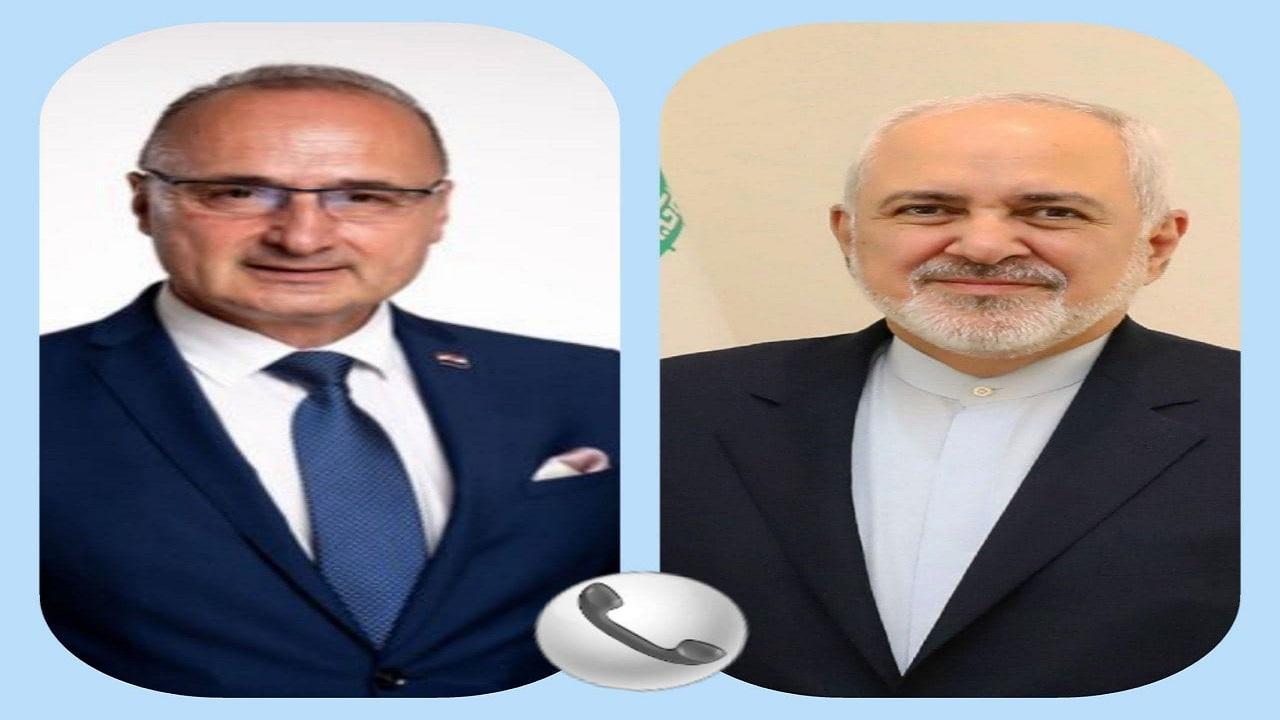 بررسی موضوعات مربوط به برجام محور گفتوگوی وزرای خارجه ایران و کرواسی