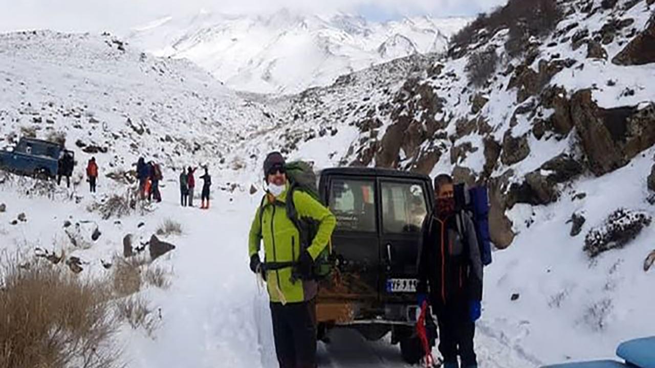 پیدا شدن پیکر کوهنورد گم شده در دماوند
