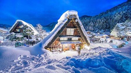 ۱۲ منظره زمستانی واقعی که به رویا شبیه هستند + تصاویر