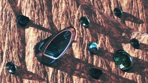 ساخت شهر آینده نگر در مریخ با ظرفیت یک میلیون نفر+ تصاویر