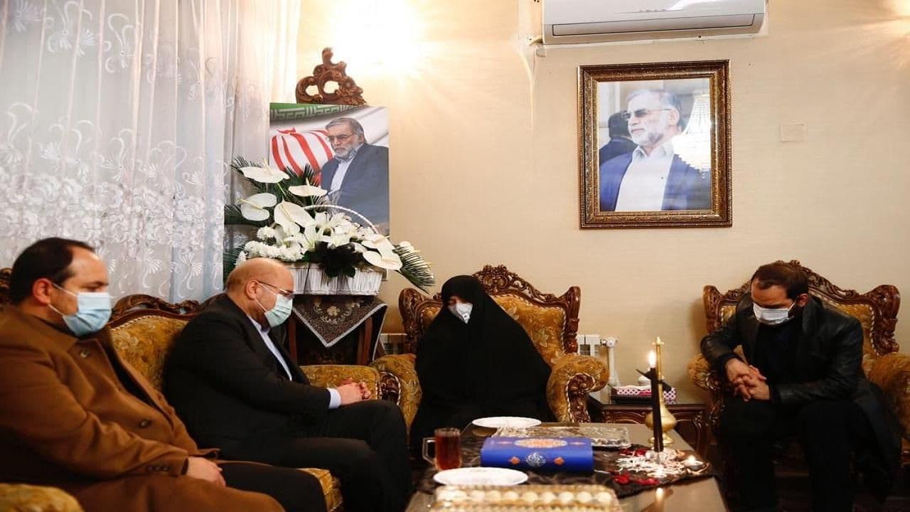 قالیباف: خون شهید فخری زاده قفلهای بسته صنعت هستهای را باز کرد
