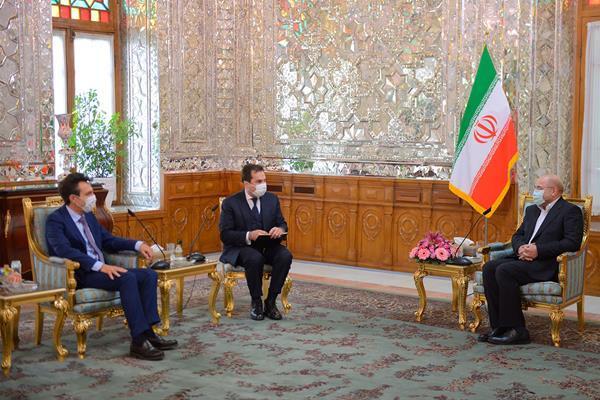 دیدار سفیر ایتالیا با  رئیس مجلس