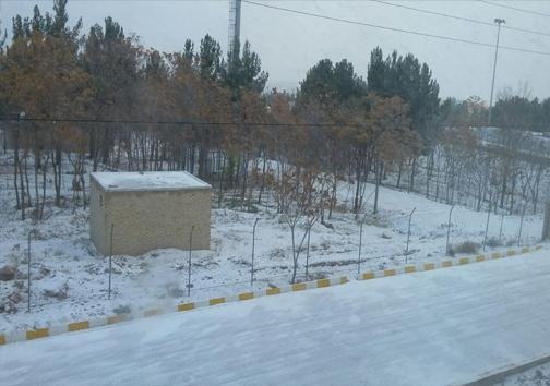 خراسان شمالی میزبان برف پاییزی+تصاویر