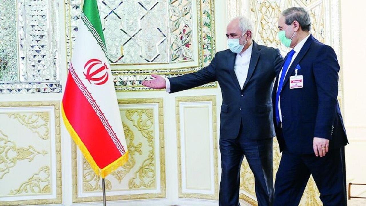 وزیر خارجه سوریه در ایران//