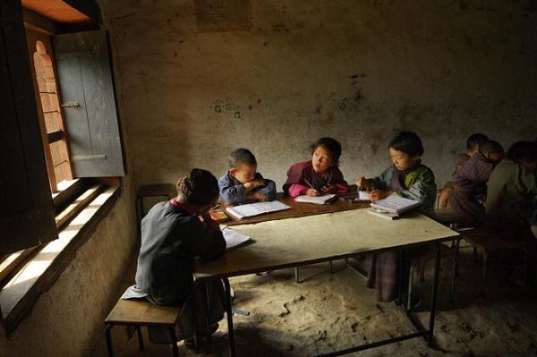 عکس منتخب نشنال جئوگرافیک از دانش آموزان روستایی