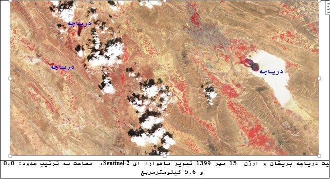 پایش ماهوارهای ۱۳ دریاچه و تالاب اصلی کشور
