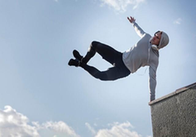 آمادگی ورزشکار مراغهای برای مسابقات جهانی پارکور