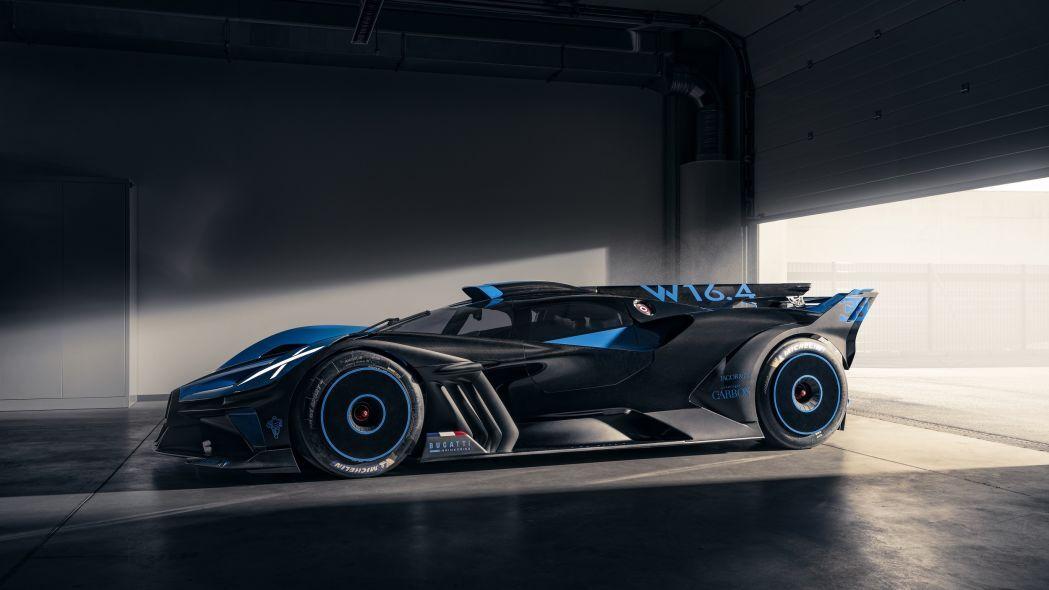 خودروی Bugatti Bolide