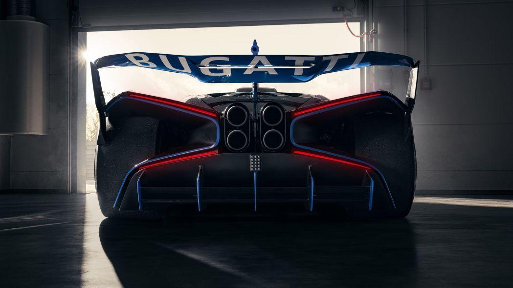 مشخصات فنی خودروی Bugatti Bolide