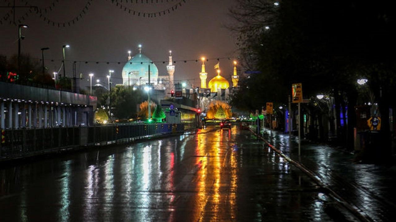 محدودیت های شبانه در مشهد ادامه خواهد داشت