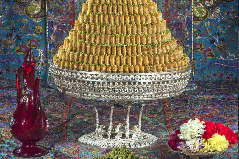طرز تهیه آسان باقلوا یزدی در فر و بدون فر