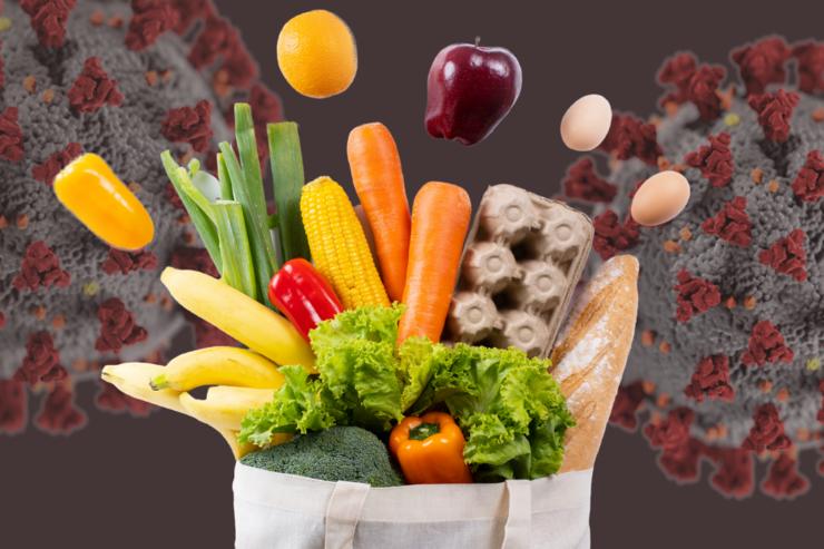 رژیم غذایی در دوران کرونا