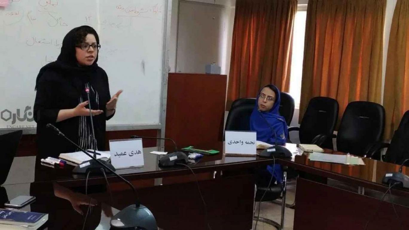 مجریان مراکز نفوذ و جاسوسی در پوشش حمایت از زنان؛ نجمه واحدی و هدی عمید را بیشتر بشناسید
