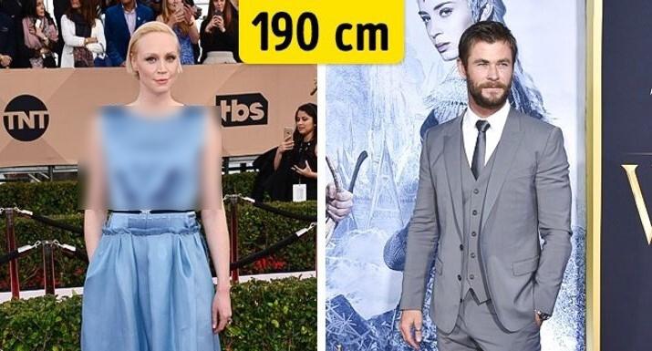 تفاوت عجیب قد واقعی بازیگران با آنچه در فیلمها دیدهاید + تصاویر