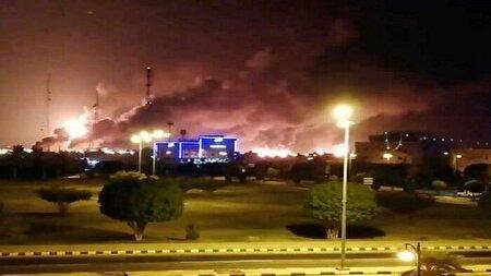 پیامهای حمله یمنیها به تاسیسات نفتی