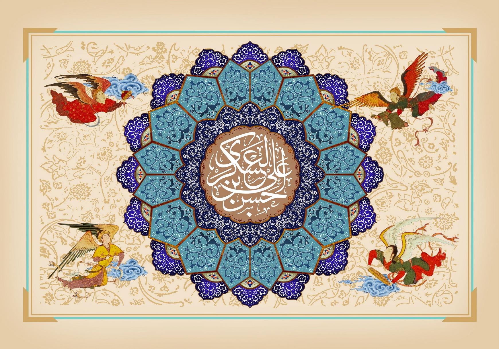 جدیدترین والپیپرها به مناسبت ولادت یازدهمین پیشوای شیعیان