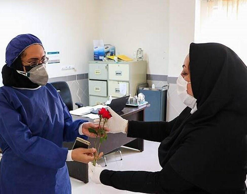 تجلیل از پرستاران بیمارستان امام رضای تبریز