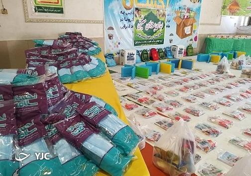 اهدای بستههای معیشتی و غذای گرم به نیازمندان دزفول